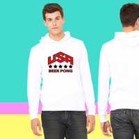 USA Beer Pong Team_ sweatshirt hoodiee