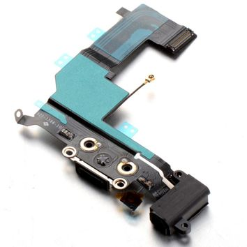 1 Piece Repair Replacement Charger Dock Connector Flex Cable for iPhone 4G 4S 5 5S SE Charging Port P0.11