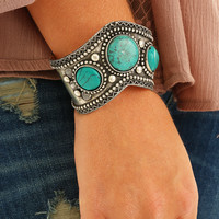Passed Down Bracelet: Turquoise - One