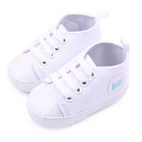 Infant Newborn Baby Boy Girl Kid Soft Sole Shoes Sneaker Newborn 0-12 Months