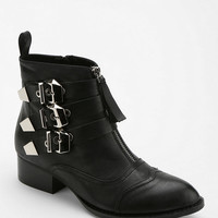 Urban Outfitters - Jeffrey Campbell Allman Triple-Buckle Ankle Boot