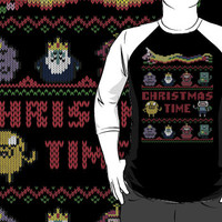 Funny Adventure Time Ugly Christmas Sweater