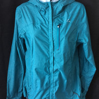 Paradox Waterproof & Beathable Womens Rain Jackets (Small, Teal)