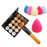 15 Colors Concealer Palette Makeup set