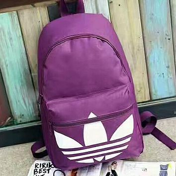 ADIDAS Woman Men Fashion Multicolor Backpack Bookbag Shoulder Bag