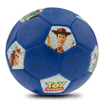 Disney Parks Toy Story Mini Soccer Ball Buzz Lightyear Woody Slinky Dog New