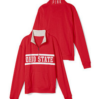 Oregon State University Boyfriend Half Zip - PINK - Victoria's Secret