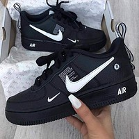 NIKE AIR FORCE 1 AF1 OW Running Sport Shoes