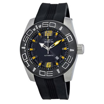 Invicta Aviator Automatic Black Dial Mens Watch 23529