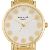 Women's kate spade new york 'gramercy' dot dial bracelet watch, 34mm