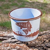 Enamel Mugs - Treeline Outdoors