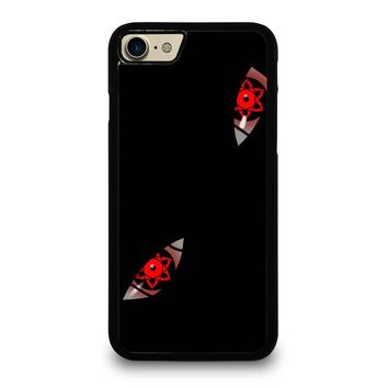 NARUTO SHARINGAN EYE iPhone 4/4S 5/5S/SE 5C 6/6S 7 8 Plus X Case