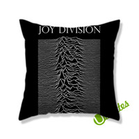 Joy Division Square Pillow Cover