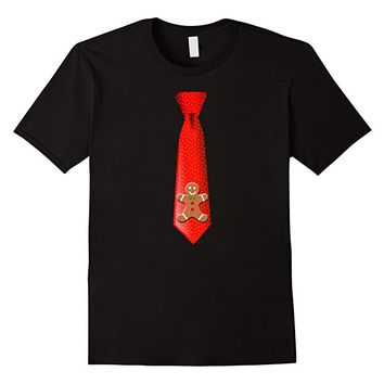 Gingerbread Man Tie T-shirt by Scarebaby