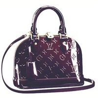 LV Women Shopping Leather Tote Crossbody Satchel Shoulder Bag Handbag G-LLBPFSH-1
