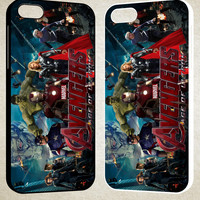avenger age of ultron 1 F0328 iPhone 4S 5S 5C 6 6Plus, iPod 4 5, LG G2 G3, Sony Z2 Case