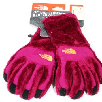 The North Face Women's Denali Thermal Etip Plum Gloves