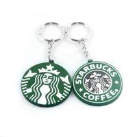 Starbucks keychain pendant Cubs cups couple creati...
