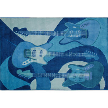 Fun Rugs Supreme Collection The Blues Area Rug