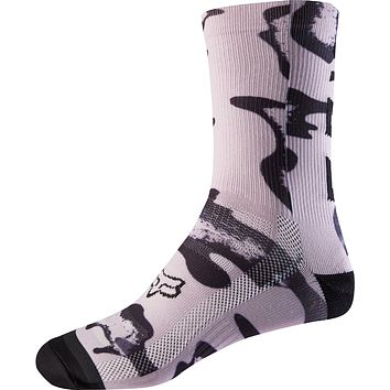 "Women's 8"" Print Trail Socks"