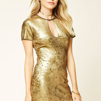 Contemporary Metallic Dress