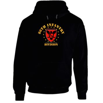 86th Infantry Division - Blackhawk Division Hoodie