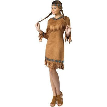 Women's Costume: American Indian Woman | Small/Medium