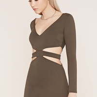 Side-Cutout Bodycon Dress