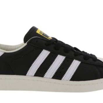 PEAPON ADIDAS SUPERSTAR BOOST BLACK/WHITE/GOLD BB0189 MEN TRAINERS VARIOUS SIZES