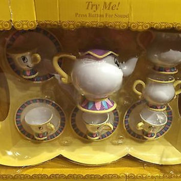 Disney Beauty and the Beast tea playset