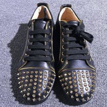 DCCKU62 Cl Christian Louboutin Low Style #2047 Sneakers Fashion Shoes
