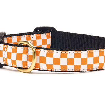 Checkerboard Dog Collar