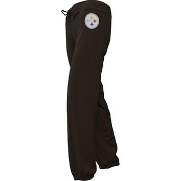 Pittsburgh Steelers - Foil Team Girls Youth Sweatpants