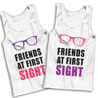 Friends At First Sight Best Friends Tees