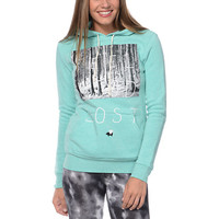Glamour Kills Feel Good Lost Mint Pullover Hoodie at Zumiez : PDP