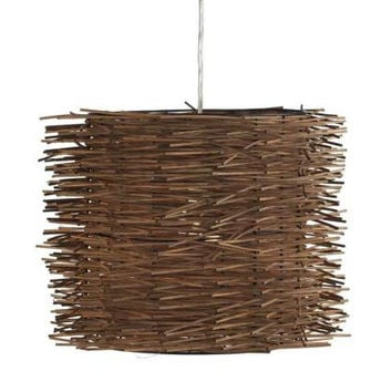 Ceiling Lamp - Woven Twigs
