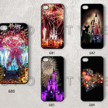 Phone Cases, iPhone 5c case, iPhone 5s Case, iPhone 5 Case, iPhone 4s Case, iPhone 4 case, Christmas, Fireworks, Case for iphone, Case No-14