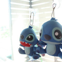 Cute Stitch Plush key chain, Lilo & Stitch, Stitch, Lilo and Stitch 2 Charm