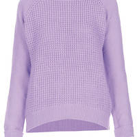 Knitted Mix Stitch Jumper - New In This Week - New In - Topshop