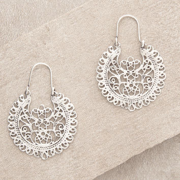 Silver Ananta Earrings