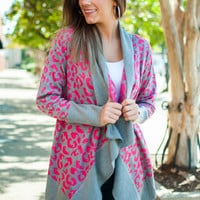 Wild Imagination Cardigan, Pink