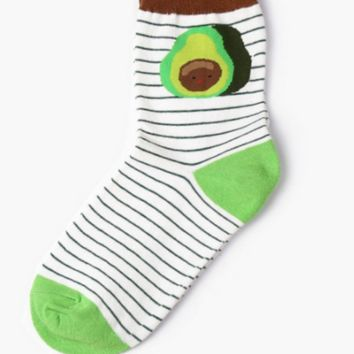 Avocado Men Women Socks