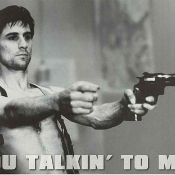 Taxi Driver Talkin' to Me Movie Poster 24x36
