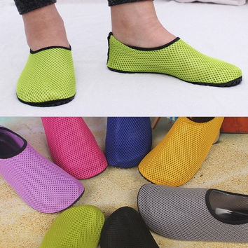 2015 Fashion Unisex  Fitness Water Sports Socks Skin Shoes For Beach Fitness Yoga Scuba Running Gym Driving = 1933150724