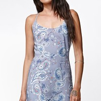 Kendall & Kylie Strappy Back Fit & Flare Dress - Womens Dress - Paisley