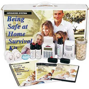 Being Safe At Home Survival Kit - Advanced System