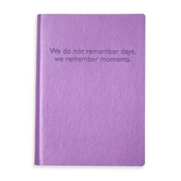Eccolo™ We Remember Moments Journal