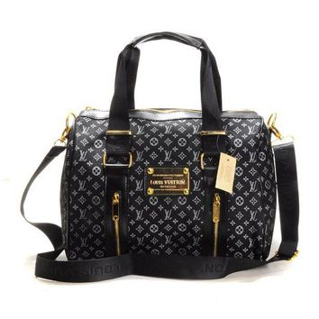 Louis Vuitton LV Women Fashion Leather Travel Luggage Tote Handbag Shoulder Bag