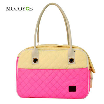 Portable Dog Cat Carrier Handbag Breathable Nylon Puppy Kennel Tote Travel Shoulder Bag Easy Carry Pet Bag  SN9