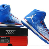 Nike Air Jordan 31 XXXI Retro Blue/White Basketball Sneak Size US 8-13